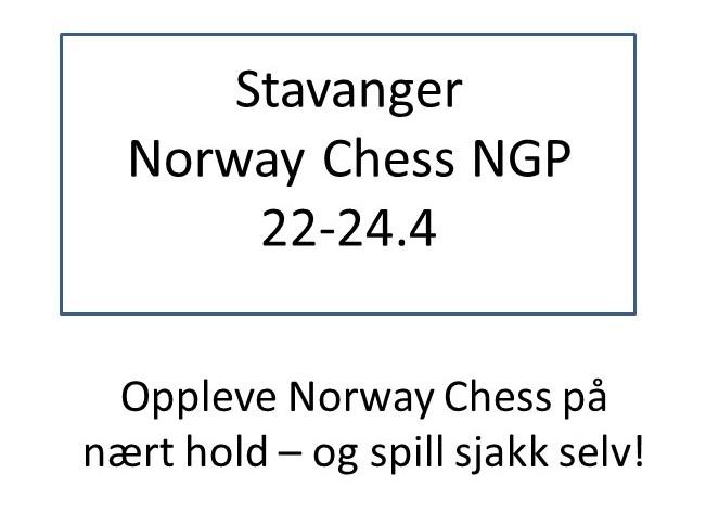 Stavanger Norway Chess NGP