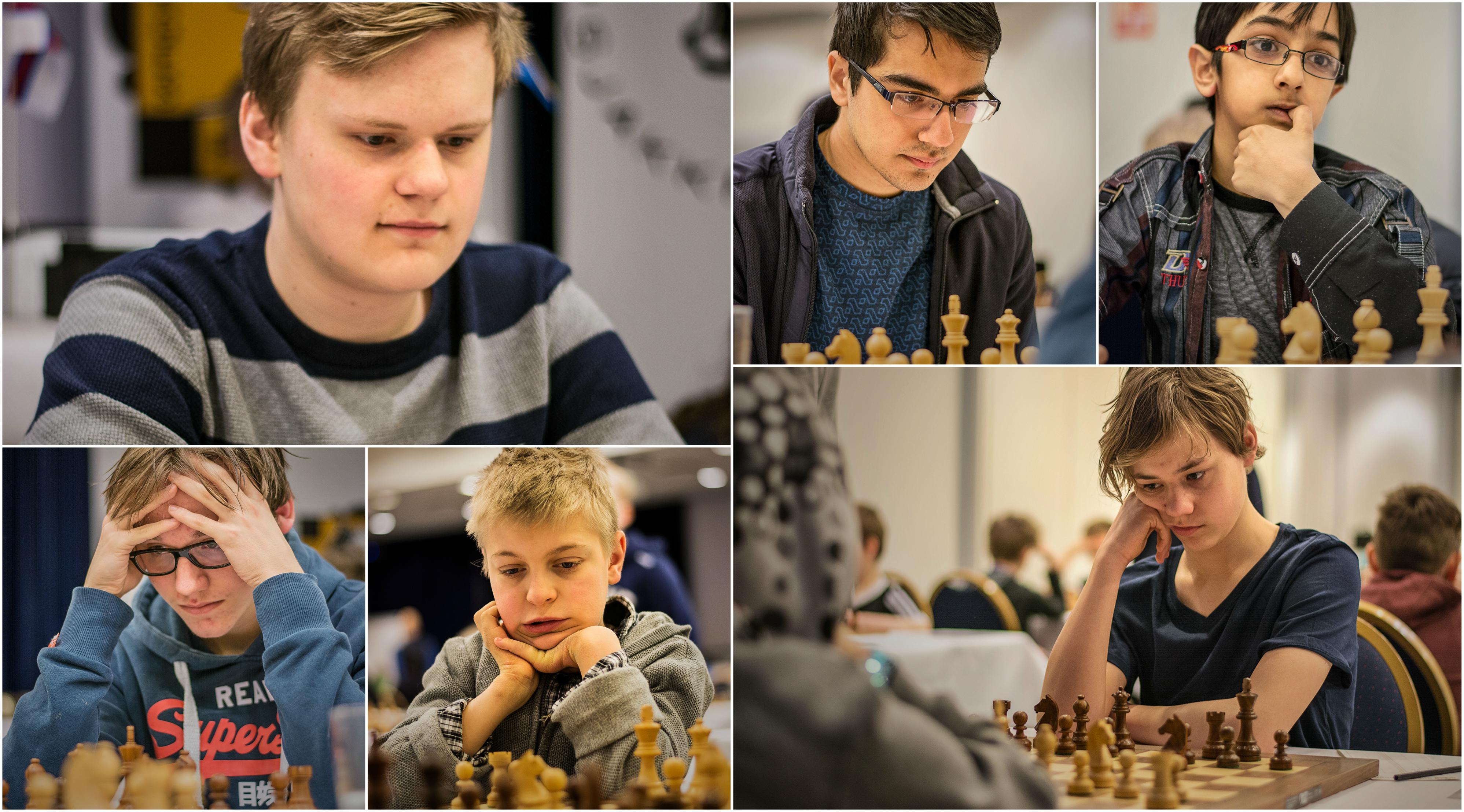 De 6 norske medaljørene. Alle foto: Kristoffer Gressli/USF
