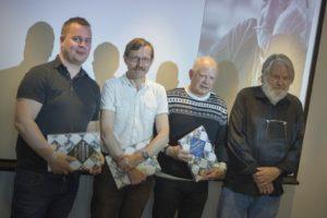 De fire foredragsholderne: Vegard Ramstad (Stjernen), Egil Arne Standal (Volda Ørsta), Per-Arvid Jakobsen (Jæren) og Per Lea (Follo)