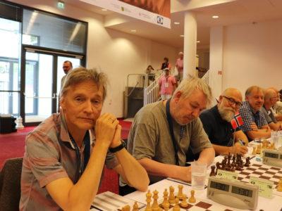 Aleks Semakoff, Oddvar U. Voll, Tor Ketil Larsen og Jørgen Andersen